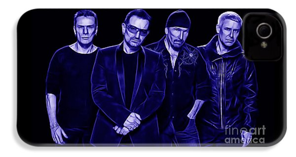 U2 Collection IPhone 4 Case