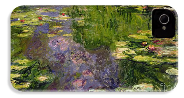 Waterlilies IPhone 4 Case by Claude Monet