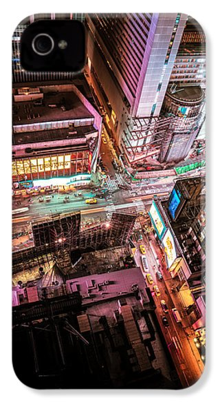 New York City IPhone 4 Case by Vivienne Gucwa
