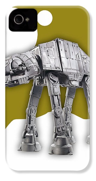 Star Wars At-at Collection IPhone 4 Case by Marvin Blaine