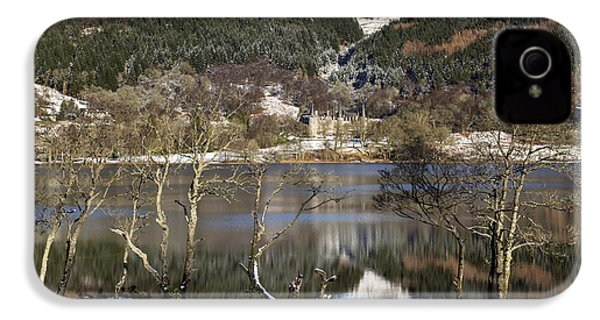 Trossachs Scenery In Scotland IPhone 4 Case by Jeremy Lavender Photography