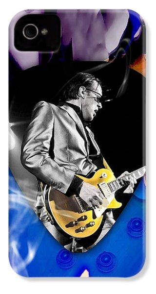 Joe Bonamassa Blues Guitarist Art IPhone 4 Case by Marvin Blaine