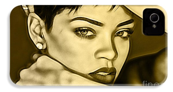Rihanna Collection IPhone 4 Case by Marvin Blaine