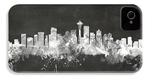 Seattle Washington Skyline IPhone 4 Case