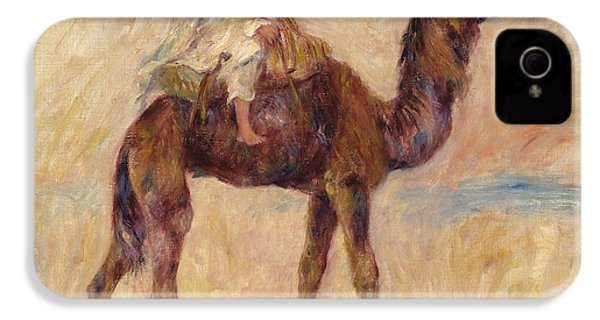 A Camel IPhone 4 Case by Pierre Auguste Renoir