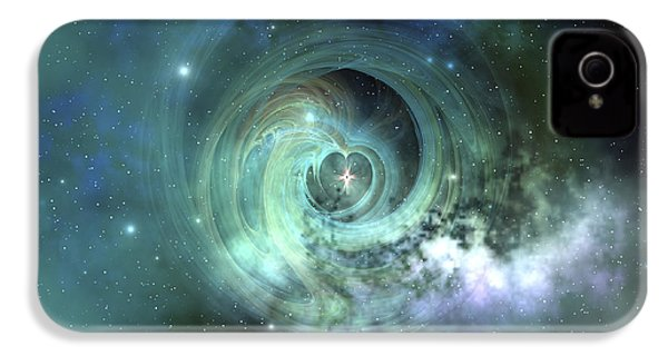 A Gorgeous Nebula In Outer Space IPhone 4 Case by Corey Ford