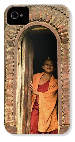 A Monk 4 IPhone 4 Case