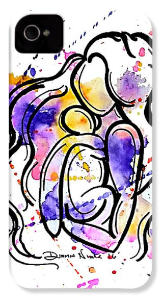 A Mother's Love IPhone 4 Case by Diamin Nicole