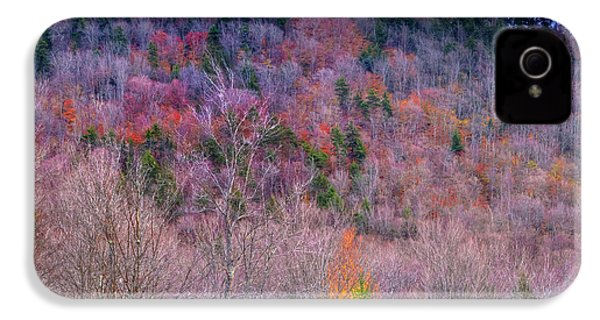 IPhone 4 Case featuring the photograph A Touch Of Autumn by David Patterson