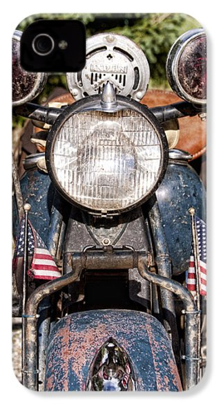 A Very Old Indian Harley-davidson IPhone 4 Case by James BO  Insogna