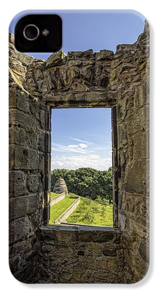 IPhone 4 Case featuring the photograph Aberdour Castle by Jeremy Lavender Photography