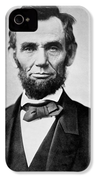 Abraham Lincoln -  Portrait IPhone 4 / 4s Case by International  Images