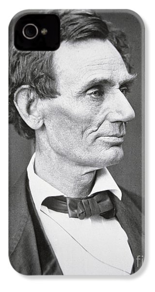 Abraham Lincoln IPhone 4 Case by Alexander Hesler