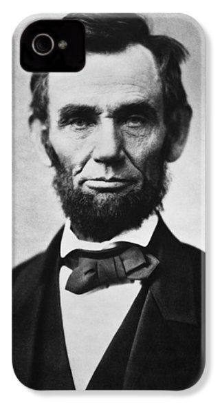 Abraham Lincoln IPhone 4 Case by War Is Hell Store