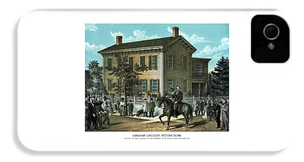 Abraham Lincoln's Return Home IPhone 4 Case