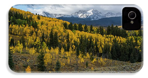 IPhone 4 Case featuring the photograph Acorn Creek Autumn by Aaron Spong