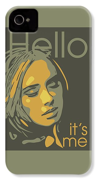 Adele IPhone 4 Case by Greatom London
