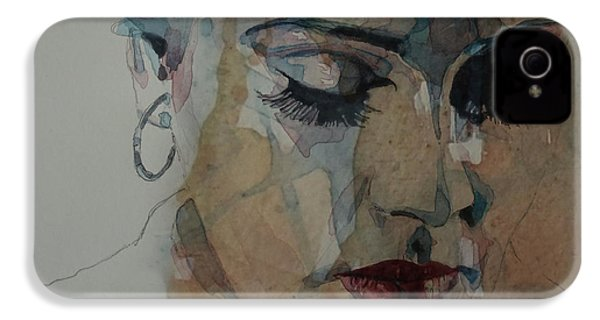 Adele - Make You Feel My Love  IPhone 4 Case by Paul Lovering