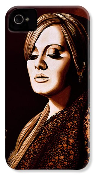 Adele Skyfall Gold IPhone 4 / 4s Case by Paul Meijering