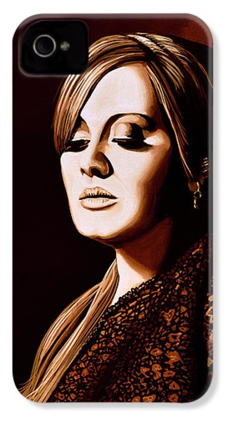 Adele Skyfall Gold IPhone 4 Case