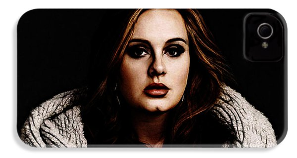 Adele IPhone 4 / 4s Case by The DigArtisT