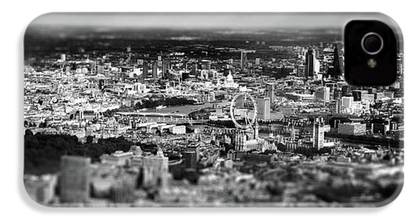 Aerial View Of London 6 IPhone 4 Case