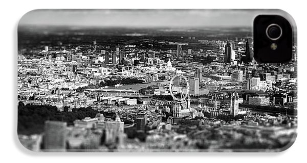 Aerial View Of London 6 IPhone 4 / 4s Case by Mark Rogan