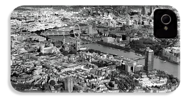 Aerial View Of London IPhone 4 / 4s Case by Mark Rogan