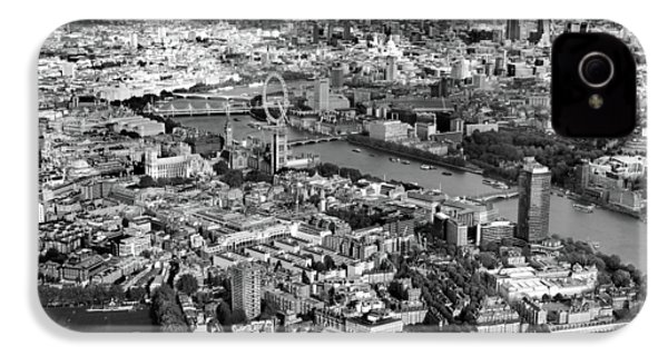 Aerial View Of London IPhone 4 Case by Mark Rogan