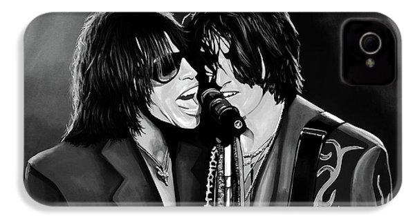 Aerosmith Toxic Twins Mixed Media IPhone 4 Case by Paul Meijering