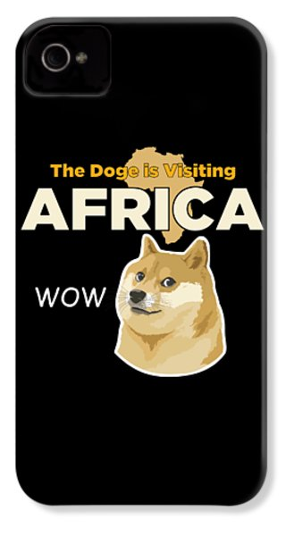 Africa Doge IPhone 4 / 4s Case by Michael Jordan