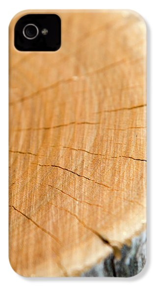 IPhone 4 Case featuring the photograph Against The Grain by Christina Rollo