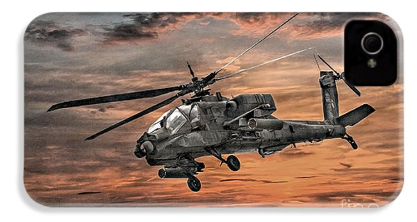 Ah-64 Apache Attack Helicopter IPhone 4 Case