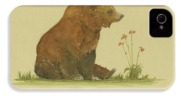 Alaskan Grizzly Bear IPhone 4 Case