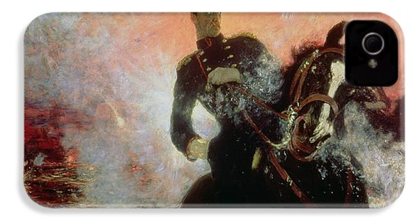 Albert I King Of The Belgians In The First World War IPhone 4 / 4s Case by Ilya Efimovich Repin