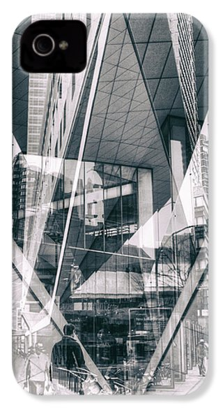 IPhone 4 Case featuring the photograph Alice Tully Hall by Dave Beckerman