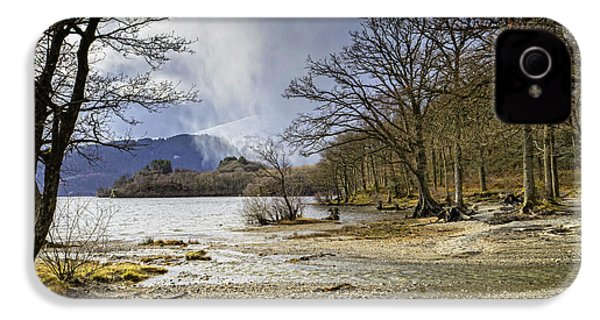 IPhone 4 Case featuring the photograph All Seasons At Loch Lomond by Jeremy Lavender Photography