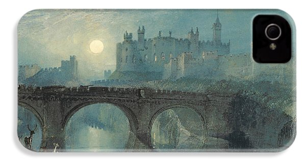 Alnwick Castle IPhone 4 Case by Joseph Mallord William Turner