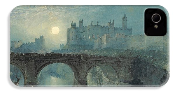 Alnwick Castle IPhone 4 Case by Joseph Mallord William Turner