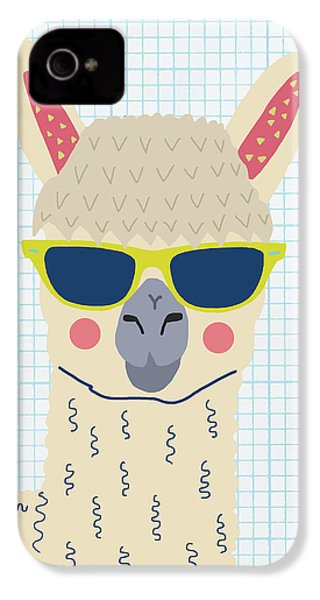 Alpaca IPhone 4 / 4s Case by Nicole Wilson