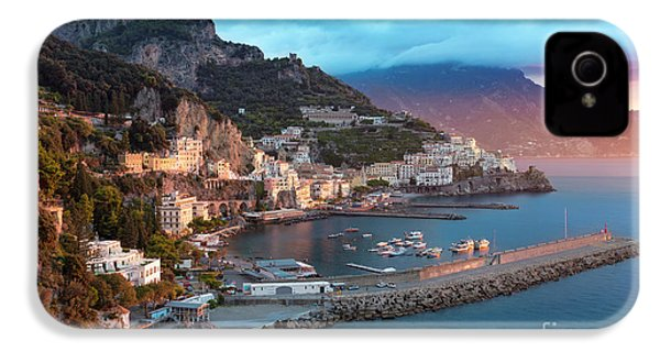 Amalfi Sunrise IPhone 4 Case by Brian Jannsen