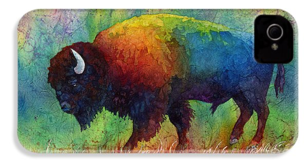 American Buffalo 6 IPhone 4 Case by Hailey E Herrera