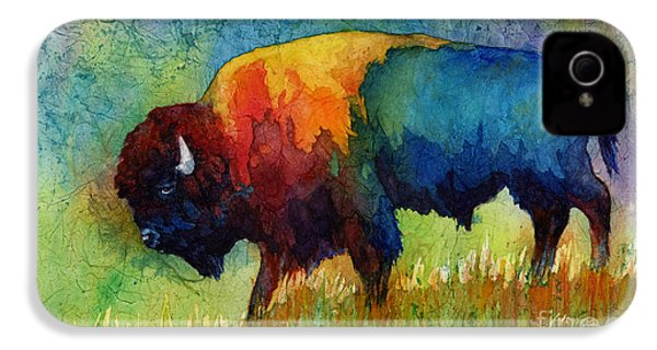 American Buffalo IIi IPhone 4 Case by Hailey E Herrera