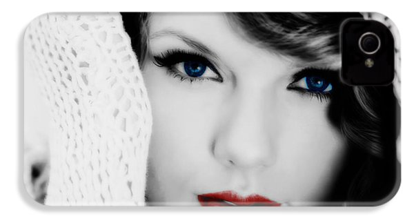 American Girl Taylor Swift IPhone 4 / 4s Case by Brian Reaves