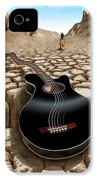 An Acoustic Nightmare 2 IPhone 4 Case by Mike McGlothlen