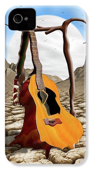 An Acoustic Nightmare IPhone 4 Case by Mike McGlothlen