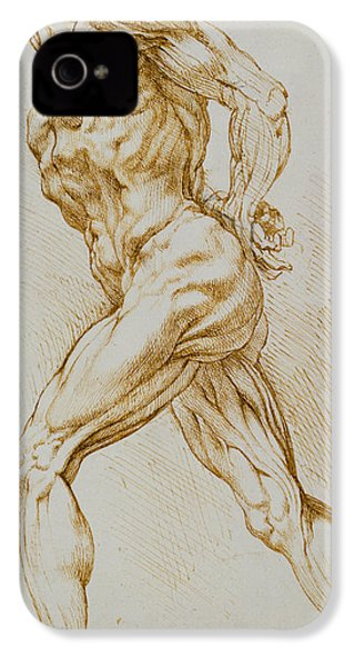 Anatomical Study IPhone 4 Case by Rubens