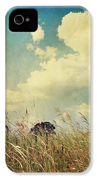 And The Livin's Easy IPhone 4 Case by Laurie Search