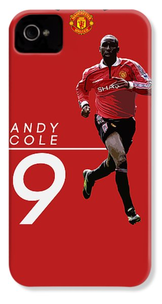 Andy Cole IPhone 4 / 4s Case by Semih Yurdabak