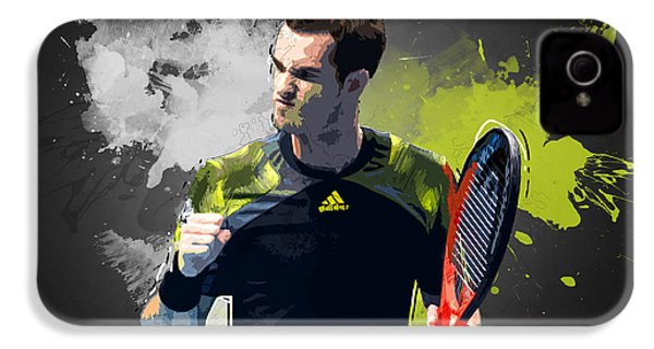 Andy Murray IPhone 4 / 4s Case by Semih Yurdabak